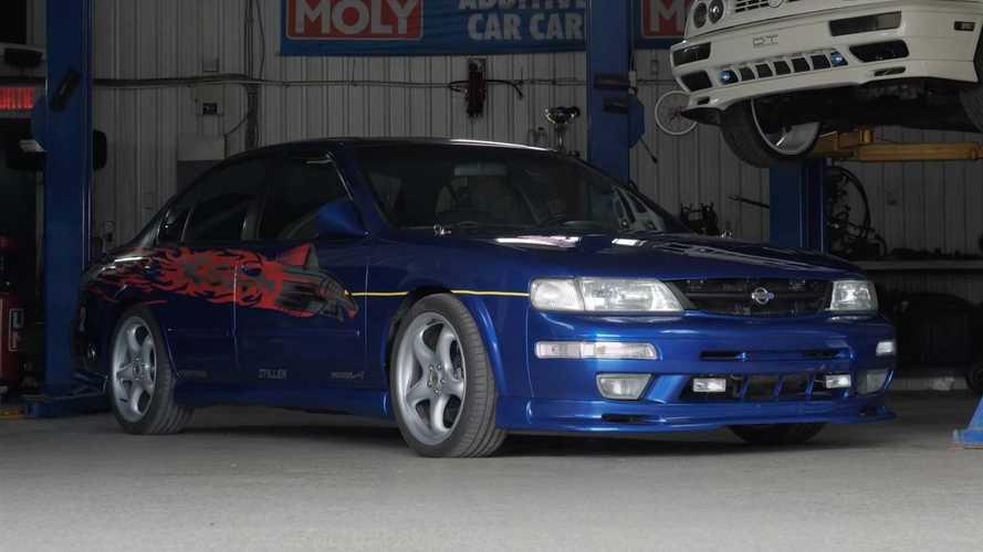Hızlı ve Öfkeli'deki Nissan Maxima'nın replikası yapıldı