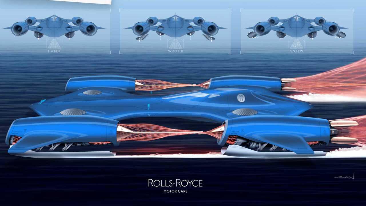 Rolls-Royce Young Designer Bluebird II Lead