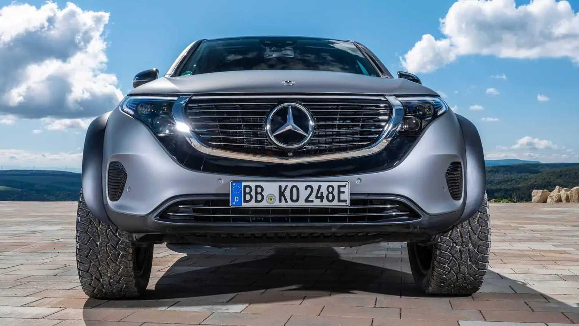 Mercedes EQC 4x4²: porque um SUV elétrico também pode ser 'malvadão'