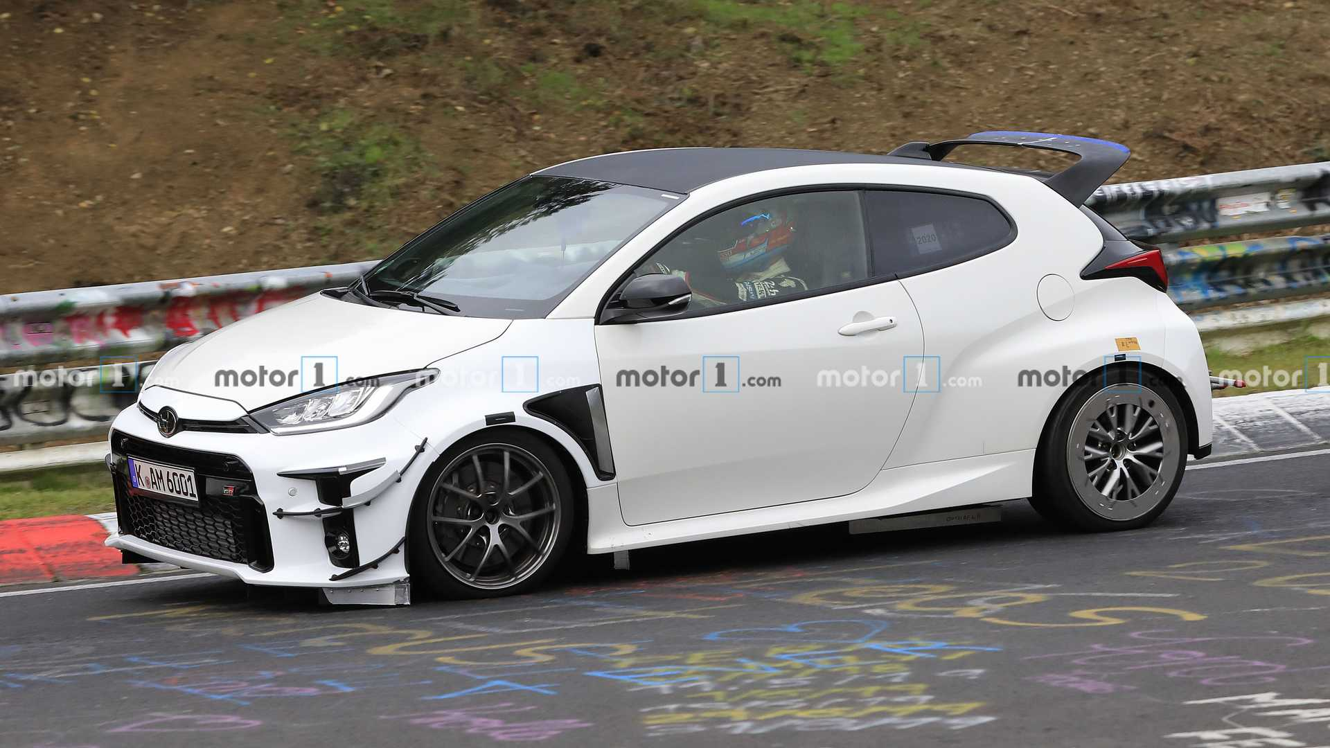 Hardcore Toyota GR Yaris Caught At The Nurburgring, Is It The GRMN?