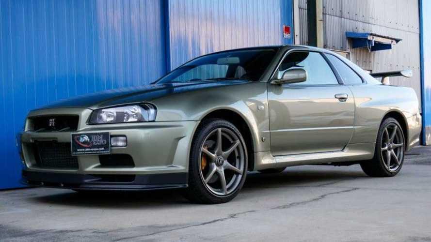 Este Nissan GT-R R34, de 2002, se vende y está como nuevo