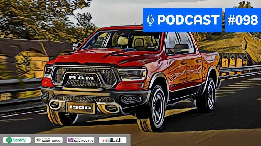 Motor1.com Podcast #98: RAM 1500 e as próximas picapes full-size no Brasil
