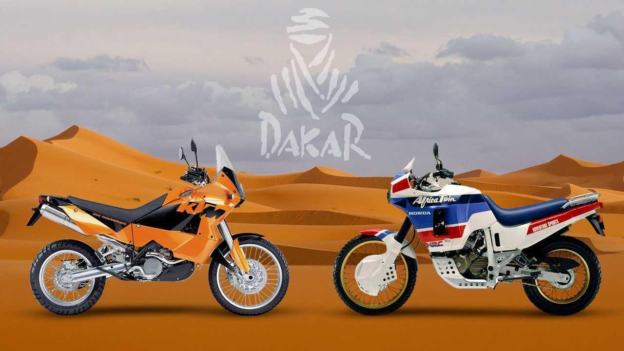 5 moto ispirate dalla Dakar - Copertina slideshow
