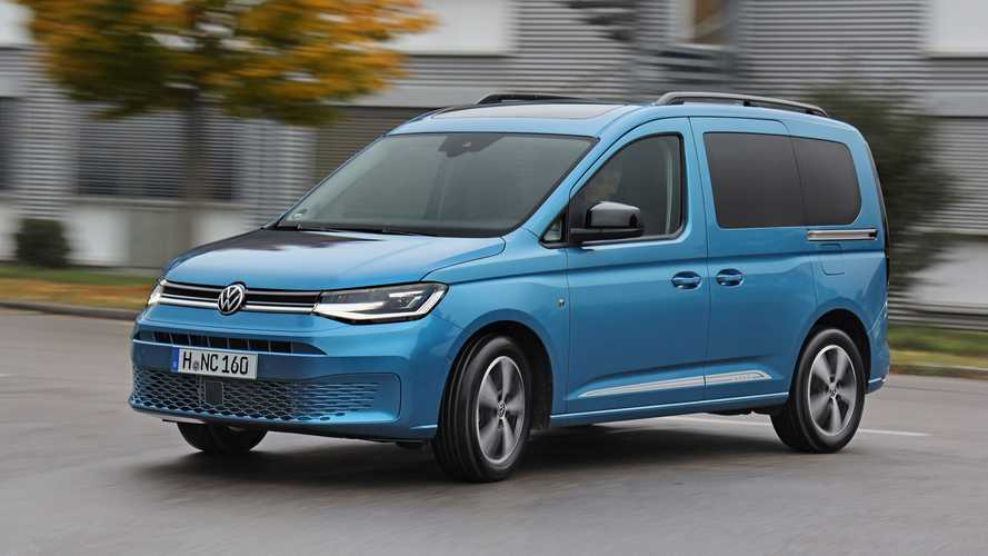 Passenger-carrying VW Caddy arrives with £23,610 price tag