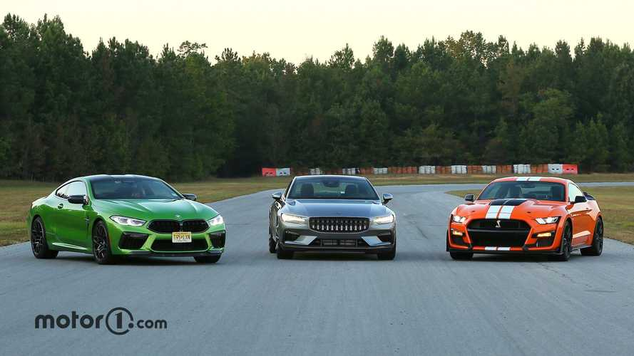 BMW M8 Competition Vs Shelby GT500 Vs Polestar 1: Modern Muscle Melee