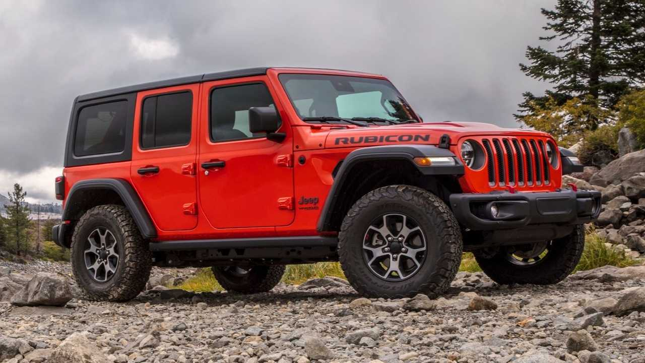 Jeep Wrangler Profil