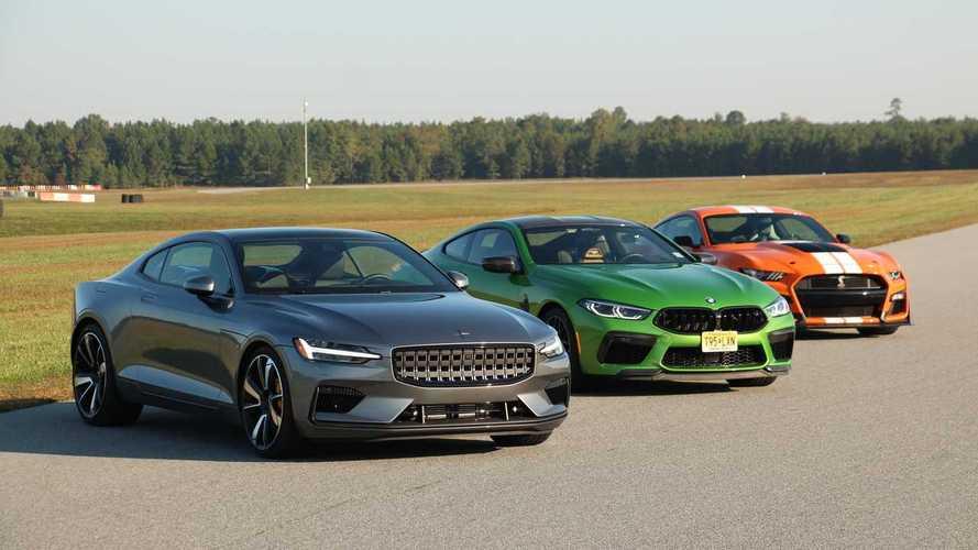 Motor1'in ABD ekibi Shelby GT500, BMW M8 ve Polestar 1'i yarıştırıyor!