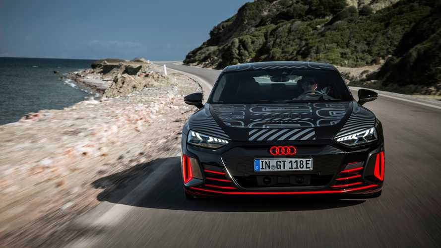 Audi e-tron GT: dinâmica de condução