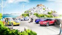 volkswagen ilha grega carros eletricos