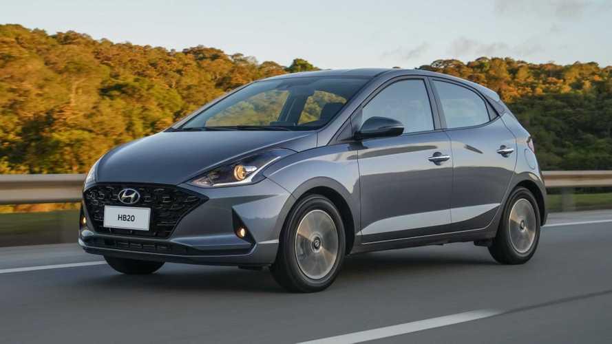 Hyundai HB20 e Creta 2020 têm recall por problema nos freios