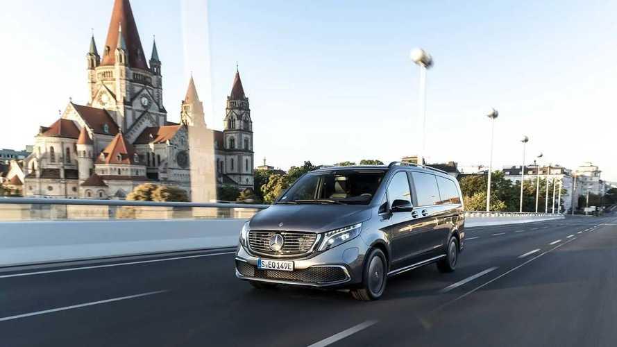 Mercedes-Benz EQV, la prova