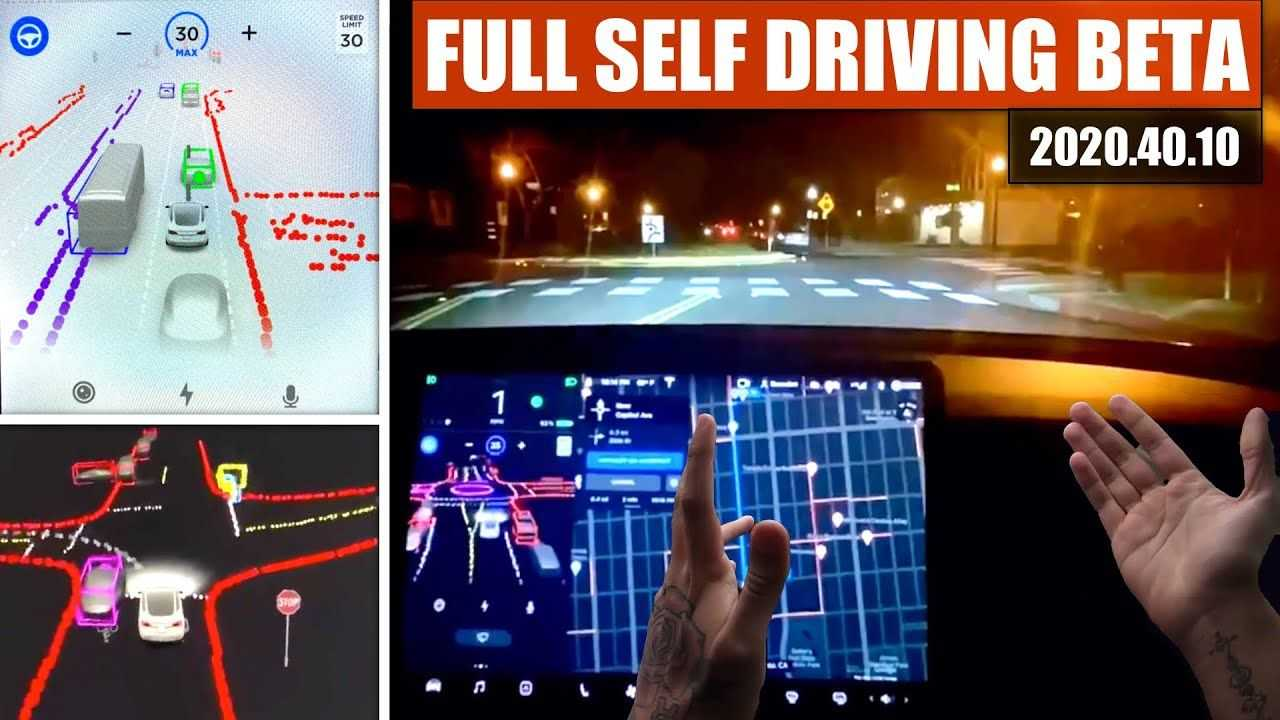 UPDATE: Tesla Full-Self Driving Beta Has Arrived: See It ...