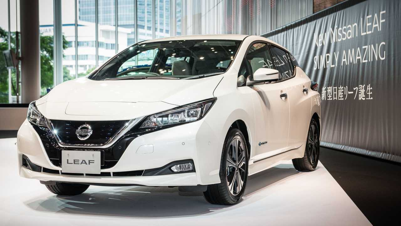 New Nissan LEAF Media Tour