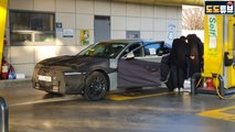 genesis g90 spied first time