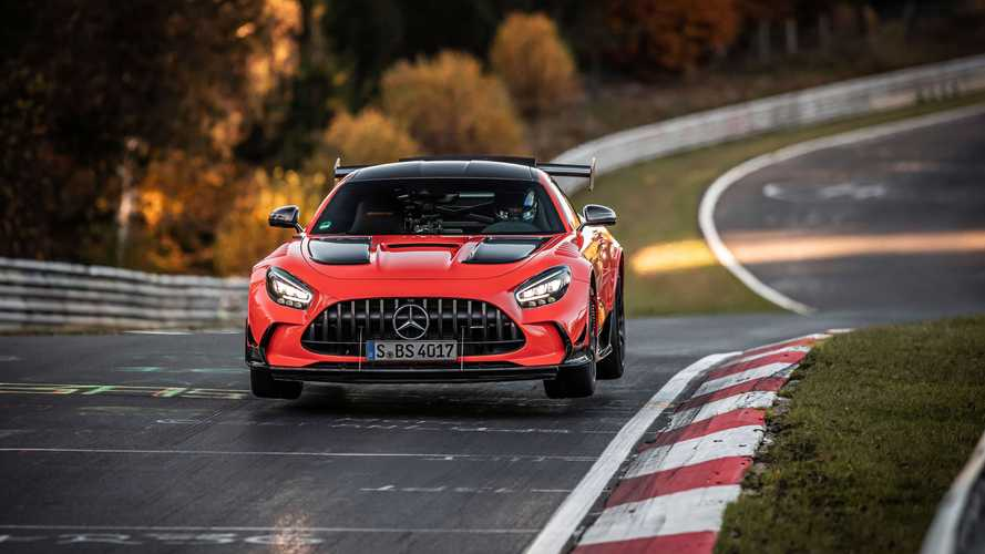 Mercedes-AMG GT Black Series Nürburgring'in yeni rekortmeni oldu!