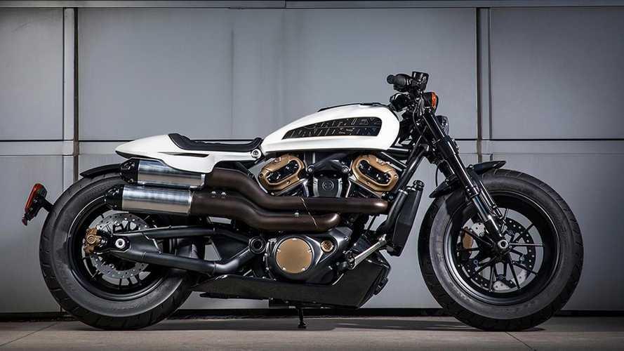 Harley Virtually Confirms Custom 1250 On Company Website