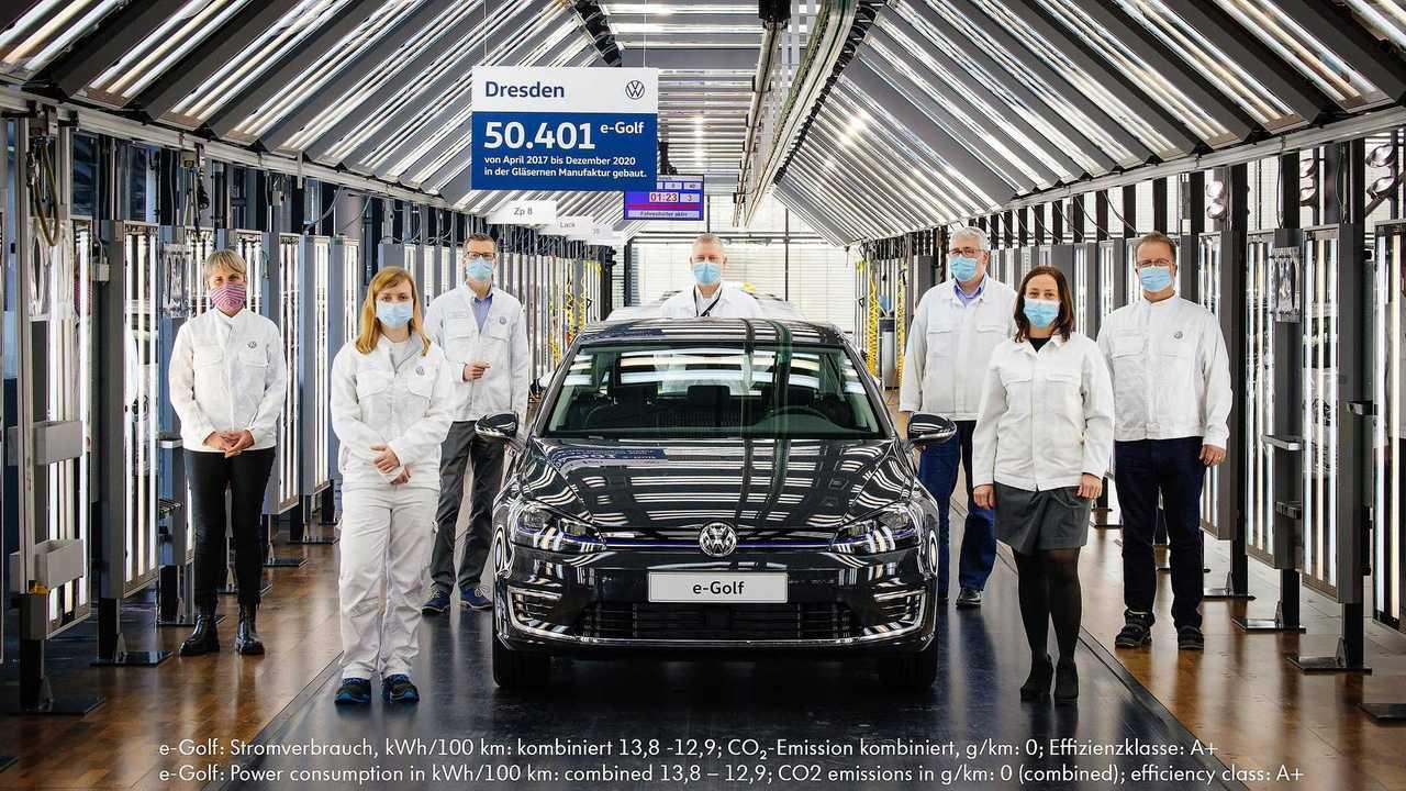 Последний Volkswagen e-Golf
