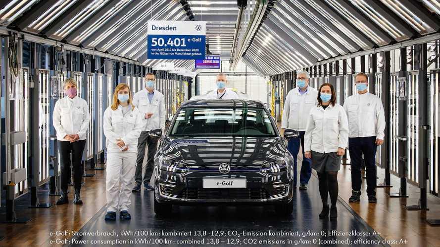 Volkswagen снял с производства электрический «Гольф»