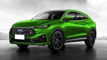 Ford Mondeo-Nachfolger Evos als Crossover im ST-Trimm gerendert
