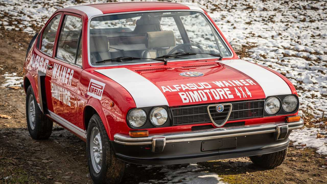Alfa Romeo Alfasud Ti Doble motor 4x4
