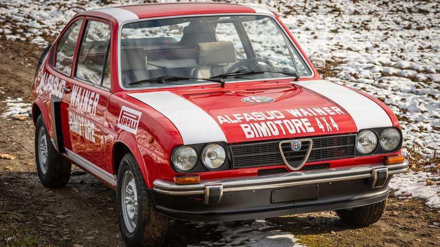 El increíble Alfa Romeo Alfasud Ti Bimotore 4x4 está a la venta