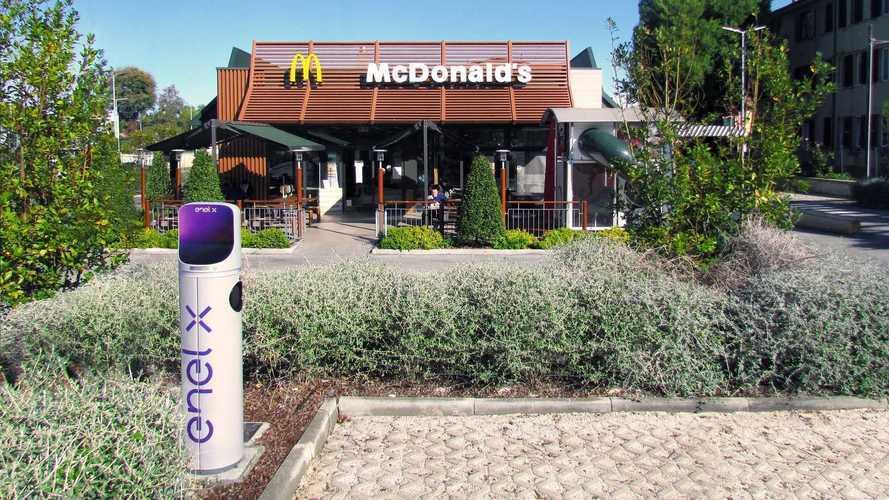 McDonald's terá 200 pontos de recarga em restaurantes de fast food