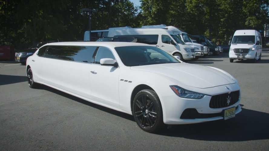 $150,000 Maserati Ghibli Limo Begs The Question: Why?