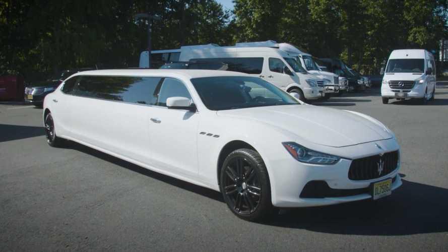 VIDÉO : 150 000 dollars pour cette Maserati Ghibli limousine !