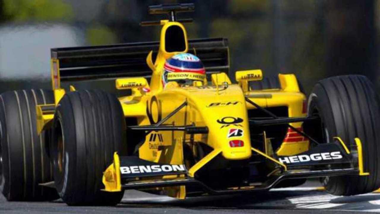Jordan EJ12 Formula 1 car