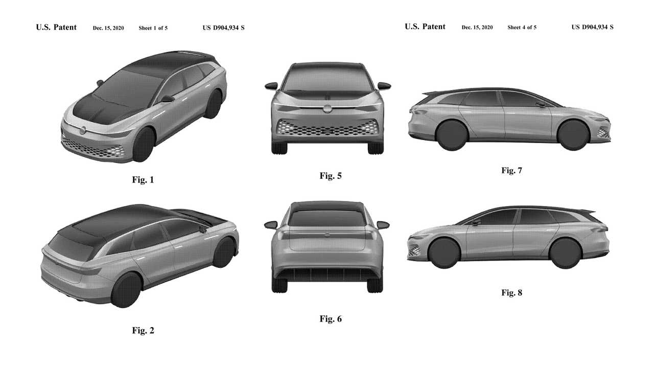Volkswagen ID. Space Vizzion Patent At USPTO Took More Than 1 Year