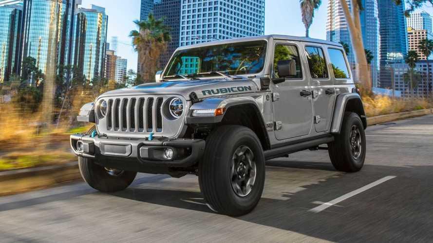 Este é o Jeep Wrangler 4xe 2021: nova versão híbrida plug-in de 381 cv