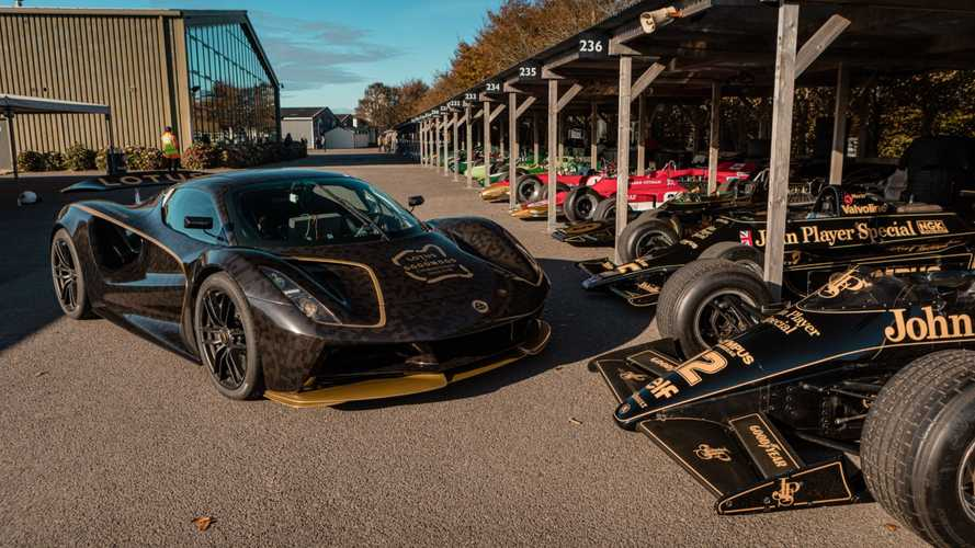 Lotus shows off new Evija electric hypercar at Goodwood SpeedWeek