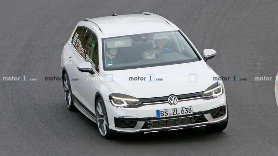 El nuevo Volkswagen Golf R Variant ya rueda en Nürburgring