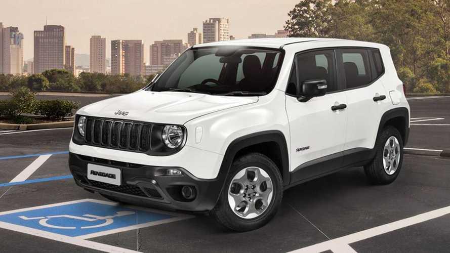 Jeep Renegade perde versão PCD e fica R$ 10 mil mais caro para este público