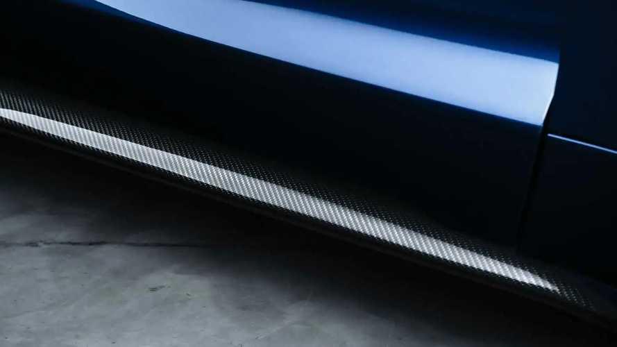Porsche Taycan Zyrus Carbon Kit