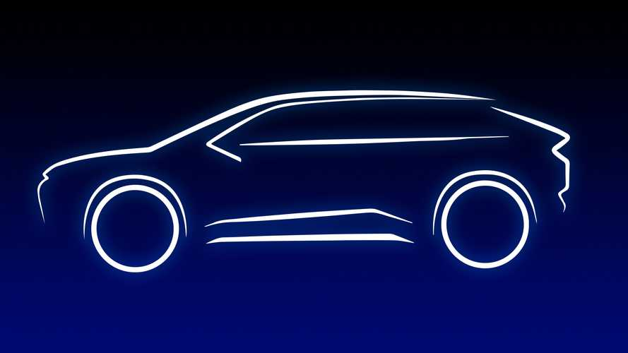 Toyota electric SUV teased, will ride on e-TNGA platform for EVs