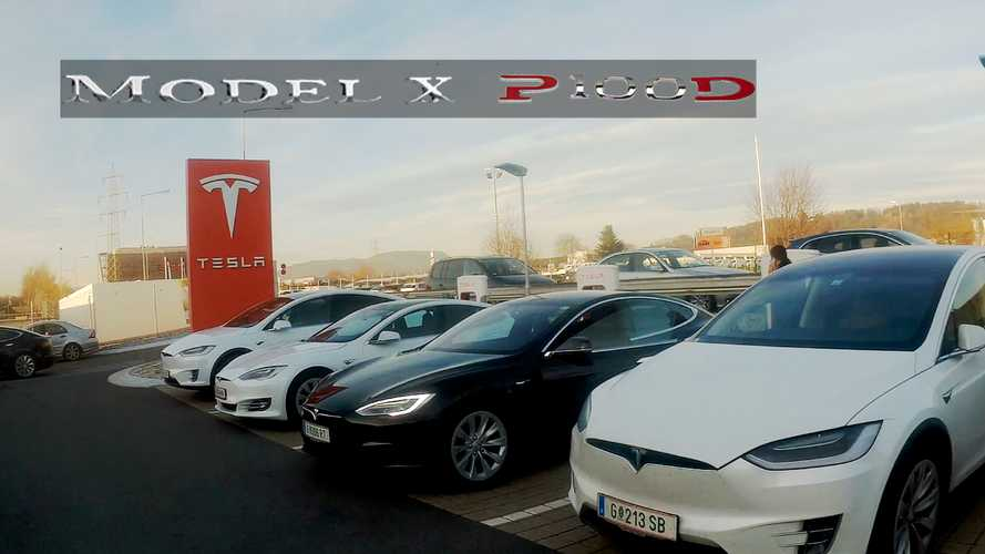Tesla Model X P100D Performans Testi