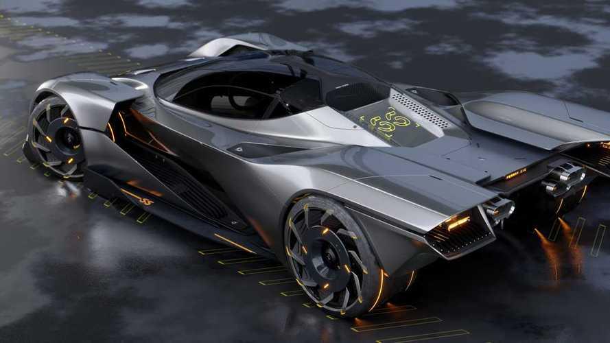 Ferrari Cyberpunk 2077 Concept