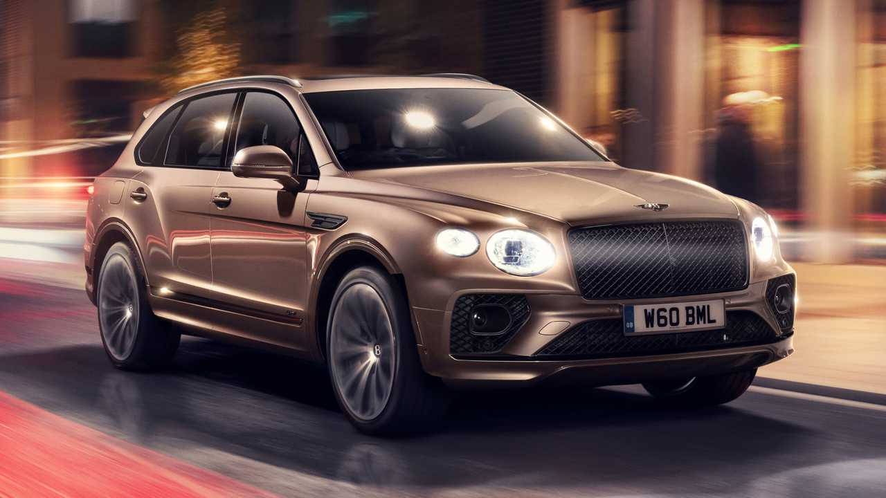 2021 Bentley Bentayga Hybrid facelift