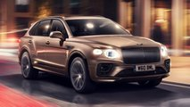 bentley bentayga hybrid facelift debut