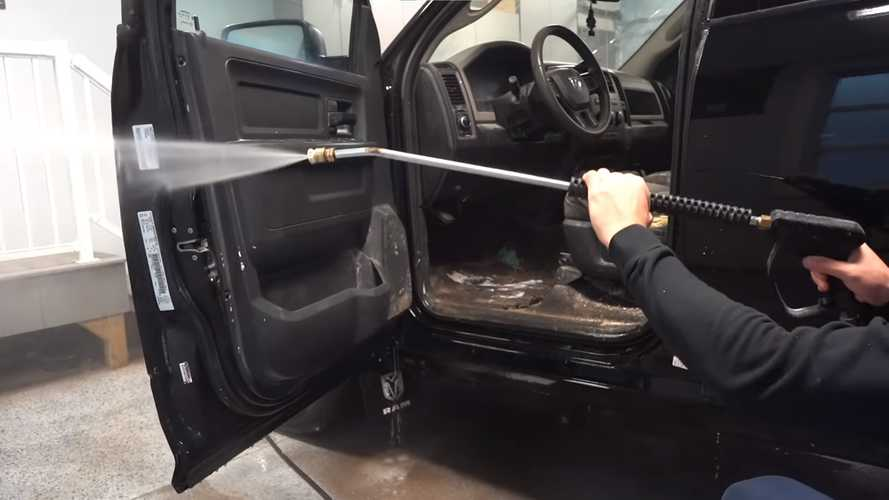 Ram 1500 Work Truck With Disgusting Interior Gets Pampered
