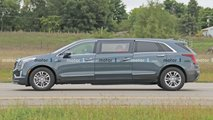 Шпионские фото лимузина Cadillac XT5