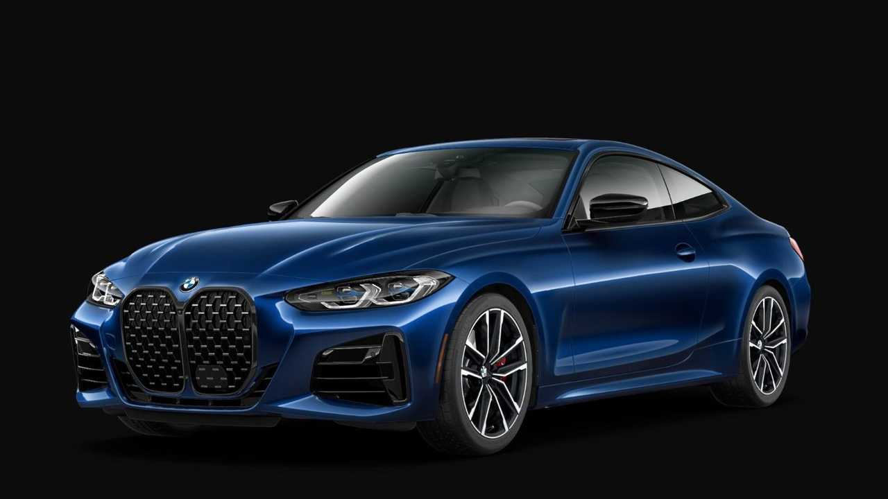 2021 BMW 4 Series Coupe most expensive