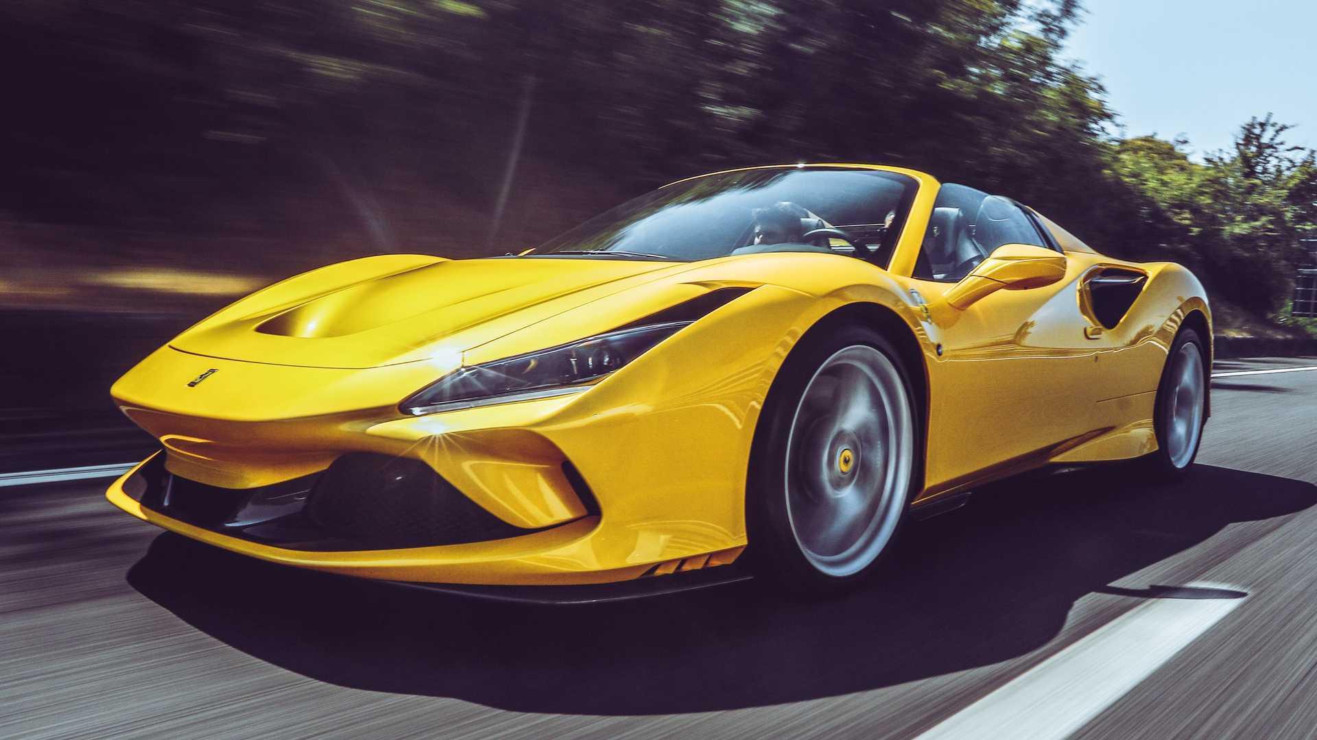 Ferrari F8 Spider Em Video Mudando Nosso Ponto De Vista