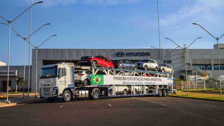Hyundai Creta - Exportação para Argentina