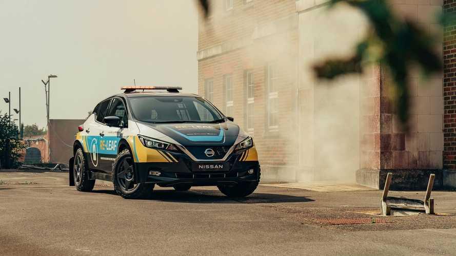 Nissan Leaf, l'elettrica si trasforma in un mezzo per le emergenze