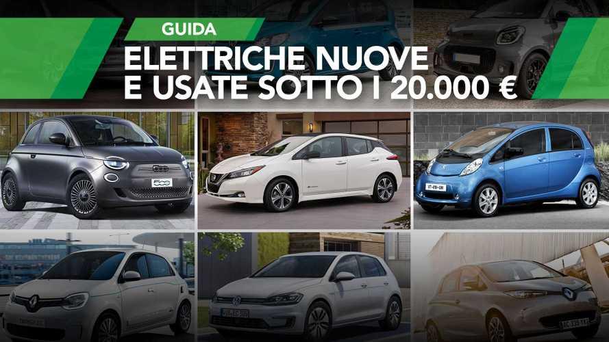 Le migliori auto elettriche sotto i 20.000 euro (nuove e usate)