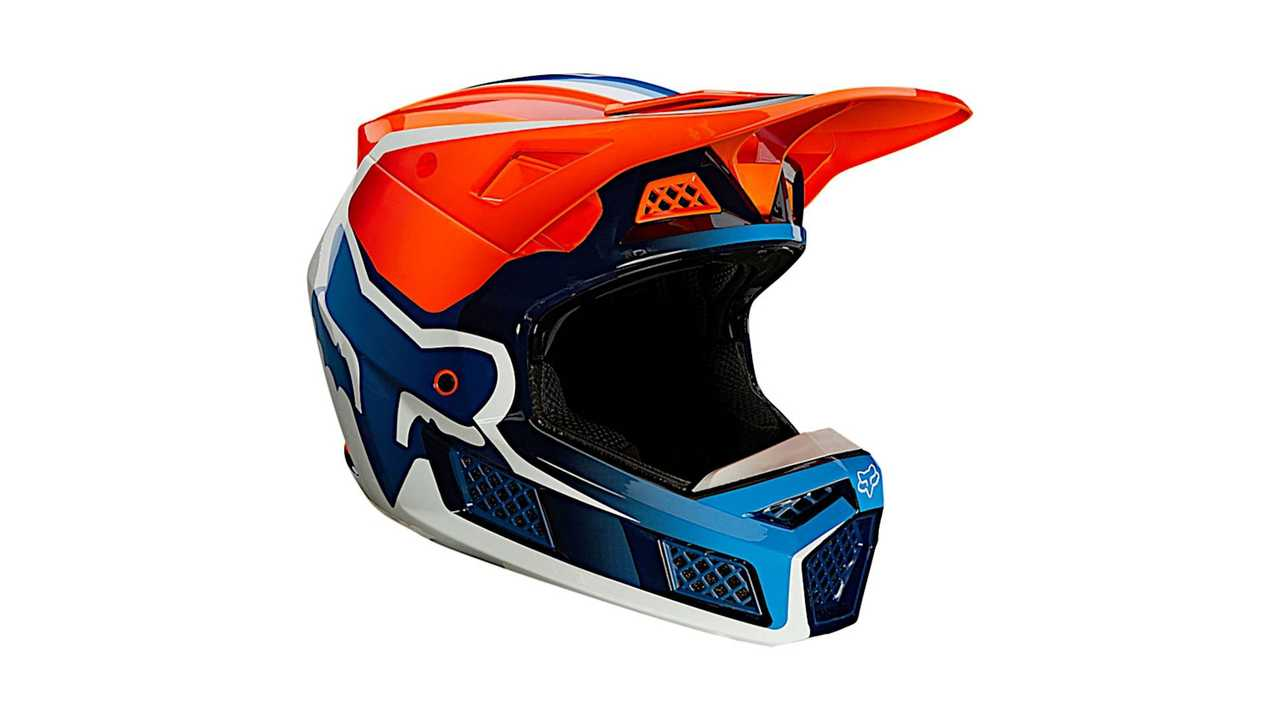 Fox V3 RS Wired - Fluo Orange - Facing Right