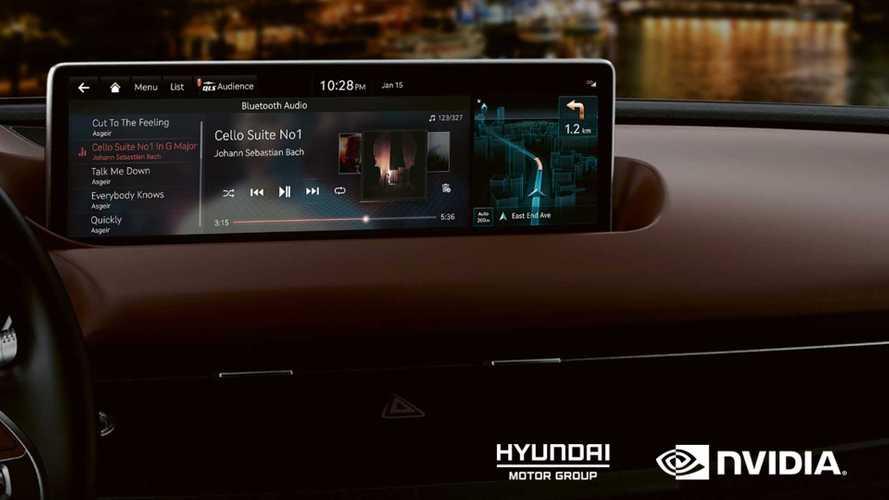 Hyundai e Kia del futuro saranno connesse grazie a Nvidia