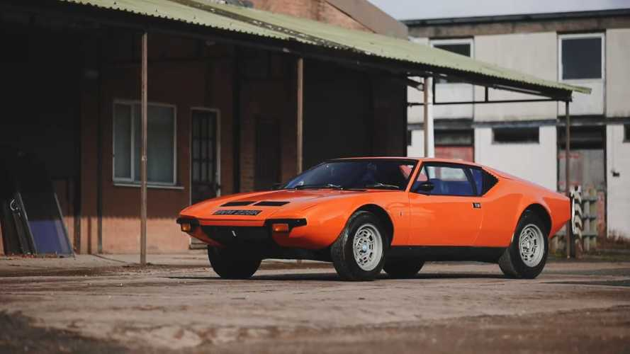 Rare 1971 De Tomaso Pantera Awaits New Owner